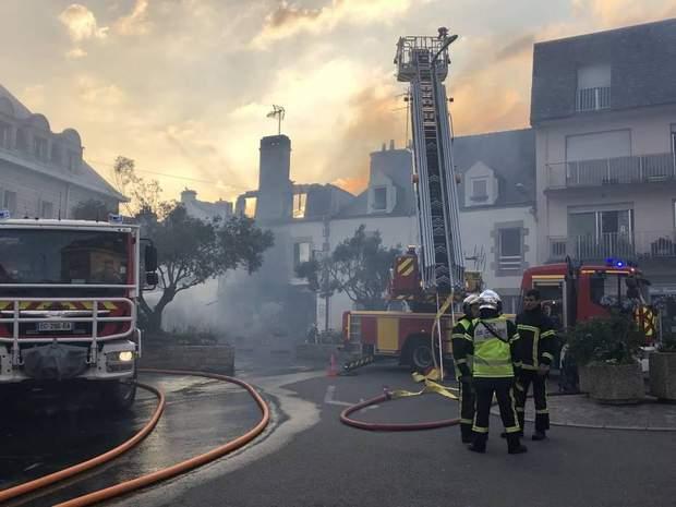 У Франції стався вибух газу в магазині