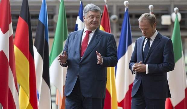 Петро Порошенко та голова Європейської Ради Дональд Туск