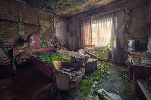Маттіяс Хакер німецький фотограф покинуті будівлі