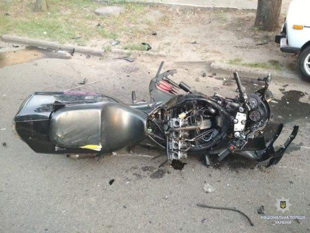 аварія харків мотоцикл