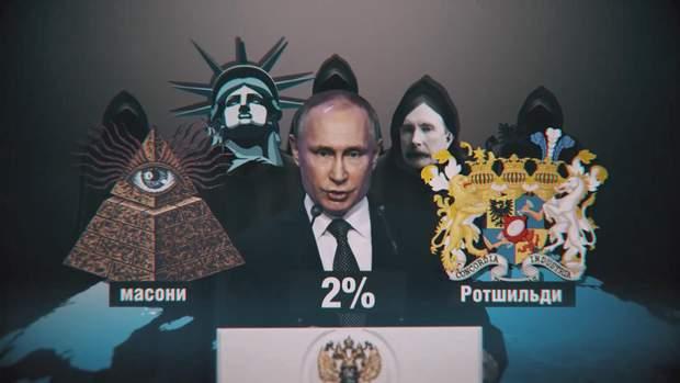 росія путін масони