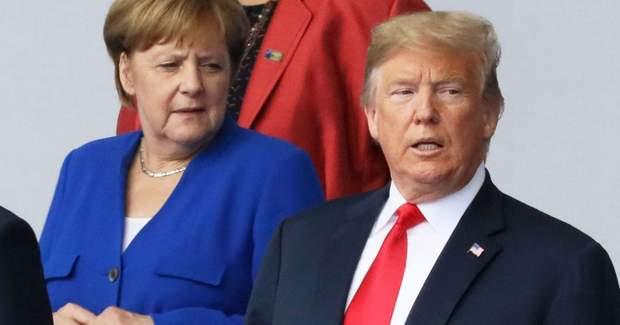 Конфлікт між Трампом і Меркель