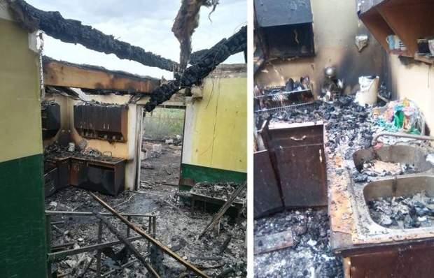 Наслідки пожежі в садочку