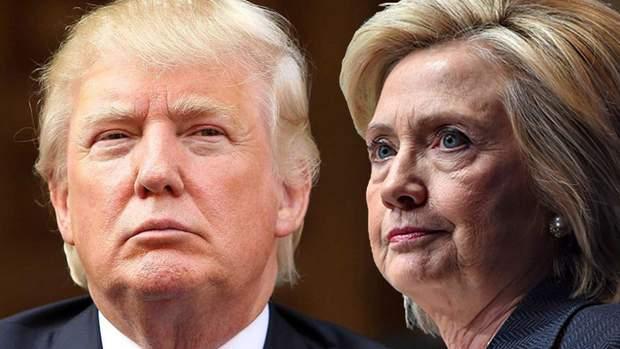 Дональд Трамп і Гіларі Клінтон