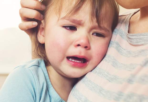 При депресії дитина часто плаче