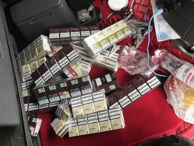 цигарки, контрабанда, кордон