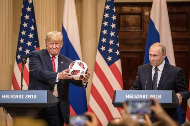 Путін Трамп Гельсінкі