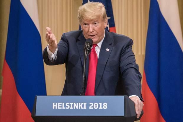 Трамп Путін Гельсінкі