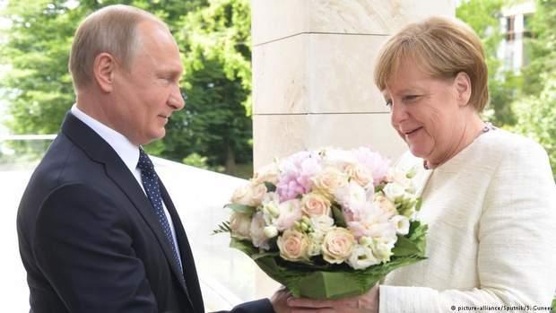 Меркель Путін