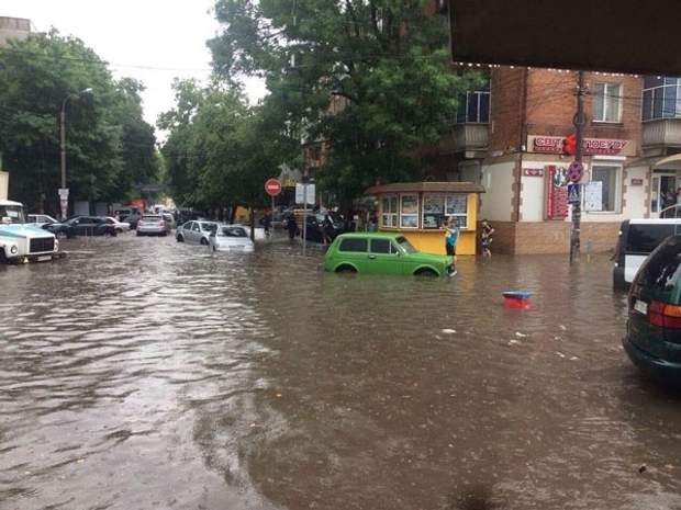 Хмельницький Дощ Опади