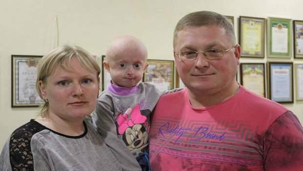 Ірина Химич з батьками