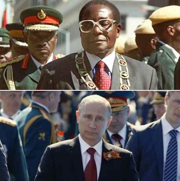 Путин Африка Зимбаве
