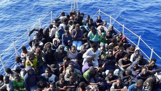 Беженцы депортация Ливия Италия