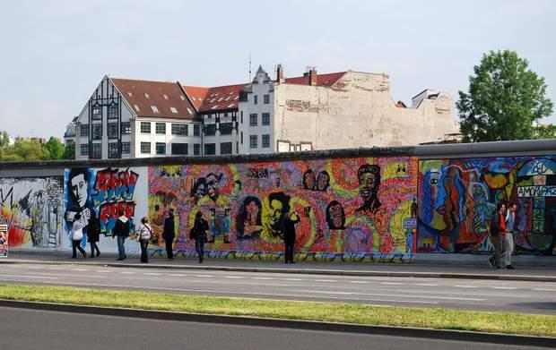 Берлінський мур у Німеччині