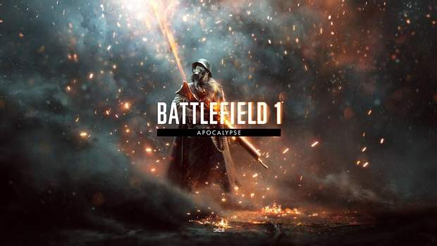Постер доповнення Apocalypse до гри Battlefield 1