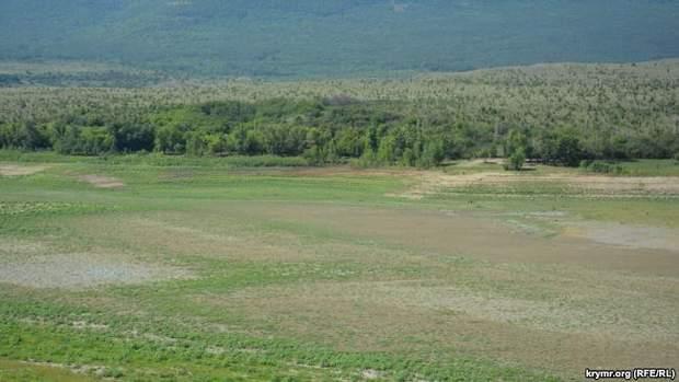 Крим засуха екологія пересохла річка
