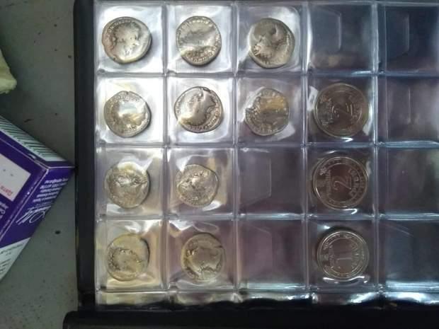 старовинні монети, динарії, Італія