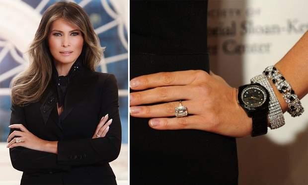 мелания трамп обручальное кольцо
