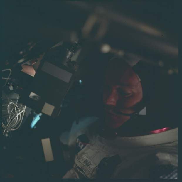 Майкл Коллінз, Аполон-11, висадка на Місяць