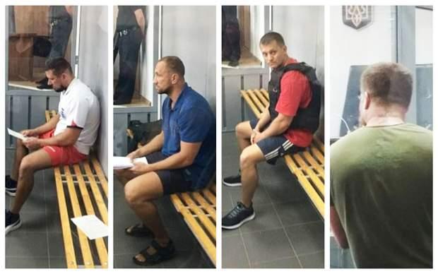 Вбивство Олешка підозрювані арешт фото