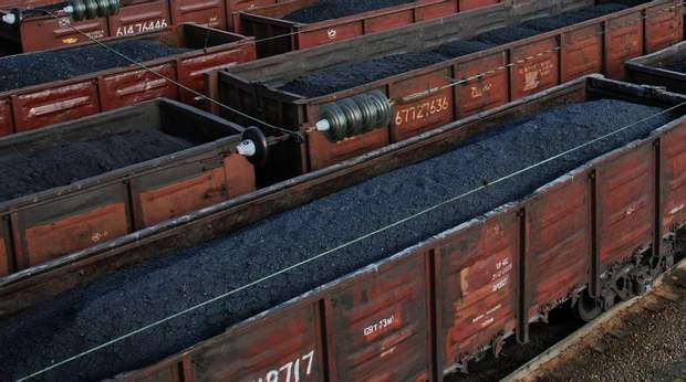 вугілля росія донбас