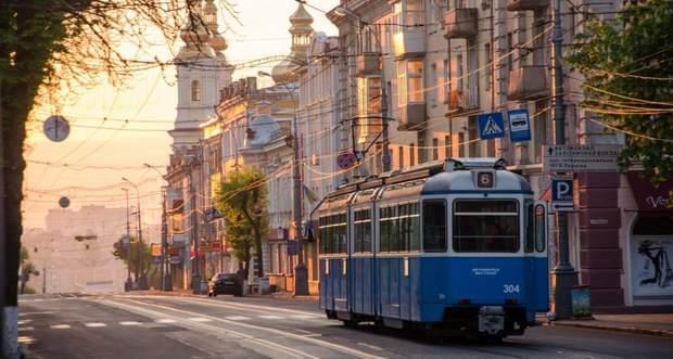 Вінниця трамвай центр