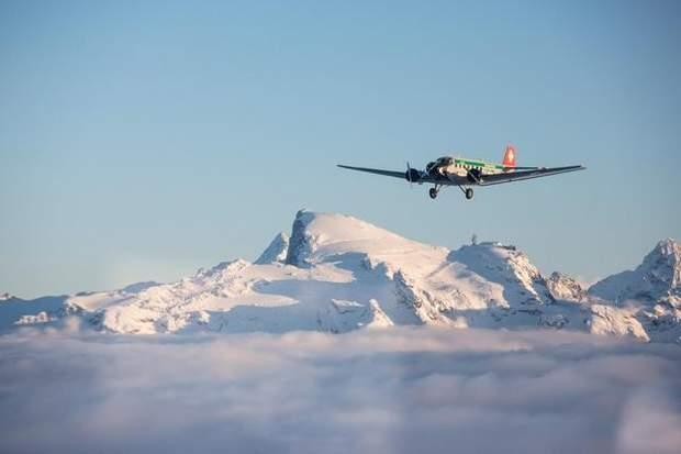 Катастрофа, літак, Швейцарія, 20 загиблих, Альпи, літак JU-52