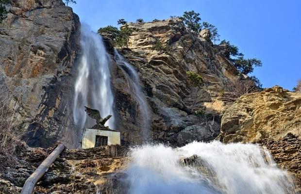 Крим водоспад Учан-Су