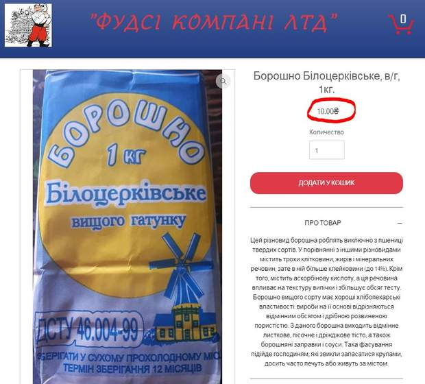 Закупівлі Prozorro Їдальня Верховна Рада борошно