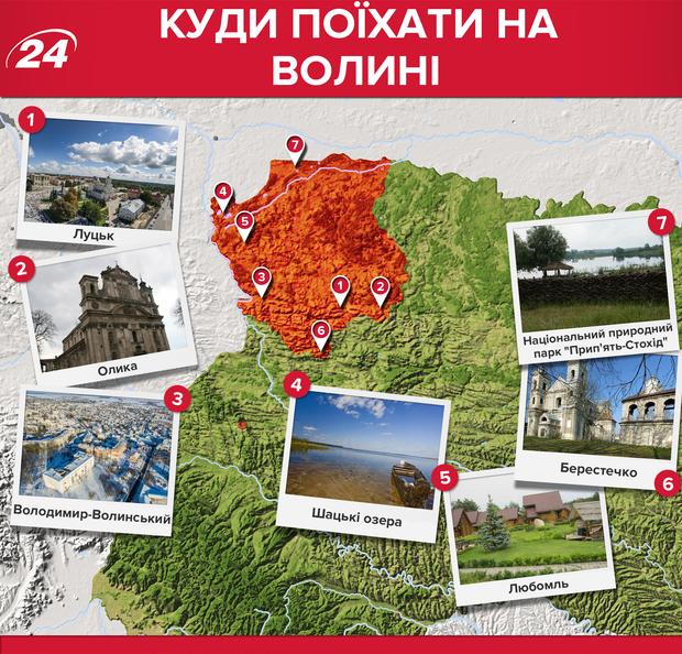 Волинська область: які місця варто відвідати
