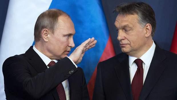 Угорщина Путін Орбан