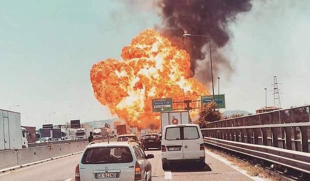 вибух Болонья