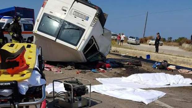 Аварія в Італї