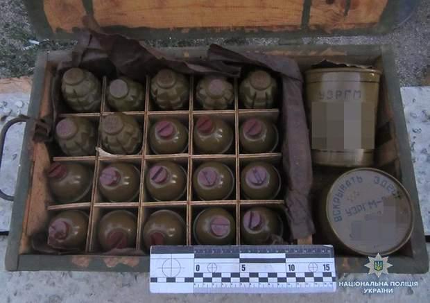 зброя гранати