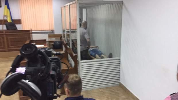 Тарасенко несподівано знепритомнів під час судового засідання