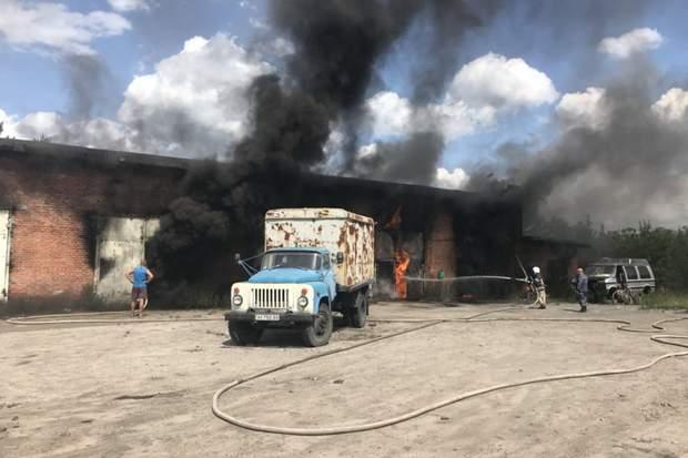 пожежа Харків бензин