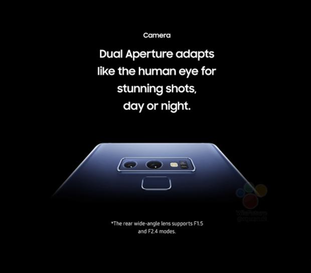 Камера Galaxy Note 9 отримає розрені функції камери
