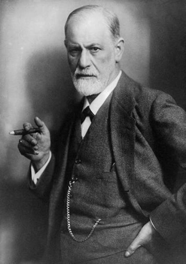 Зиґмунд Фрейд з сигарою