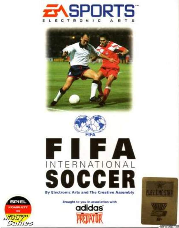 Постер гри FIFA International Soccer