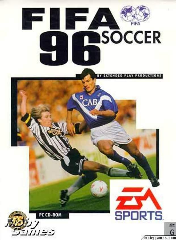 Постер гри FIFA Soccer 95