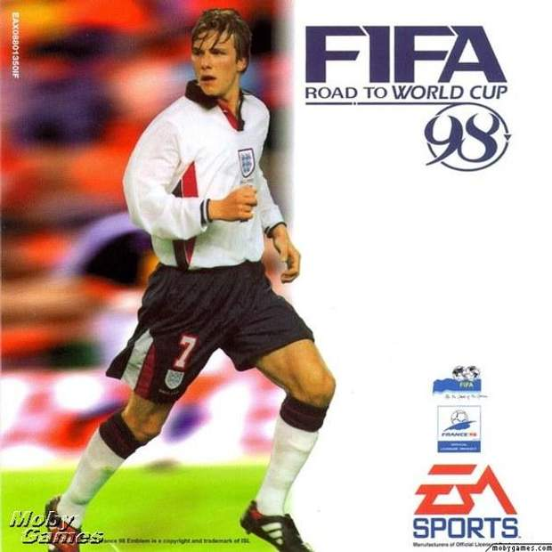Постер гри FIFA 98: Road to World Cup