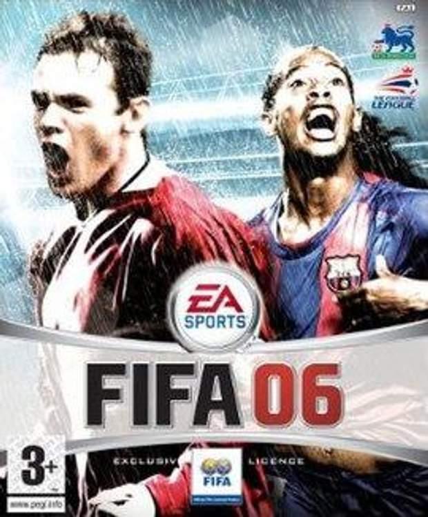 Постер гри FIFA 06