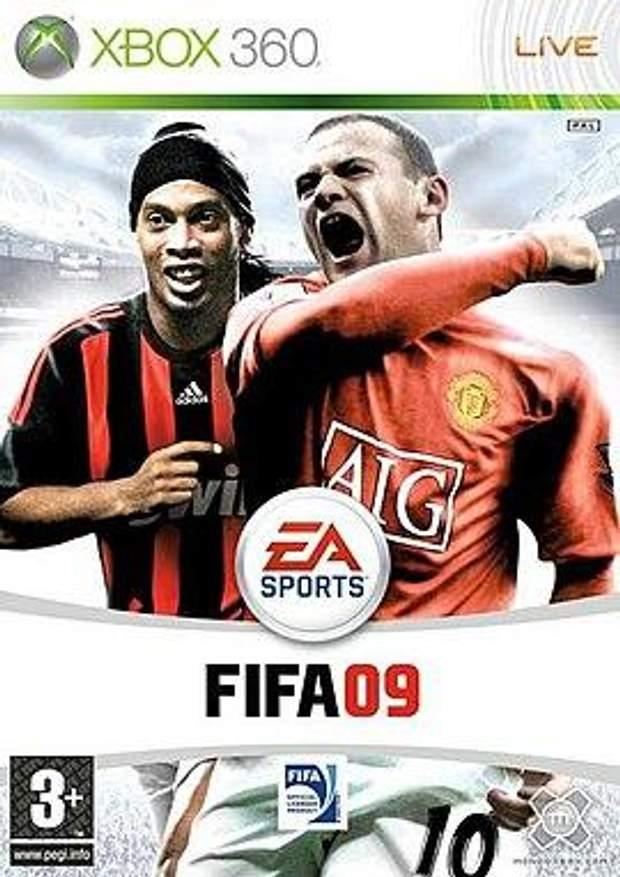 Постер гри FIFA 09
