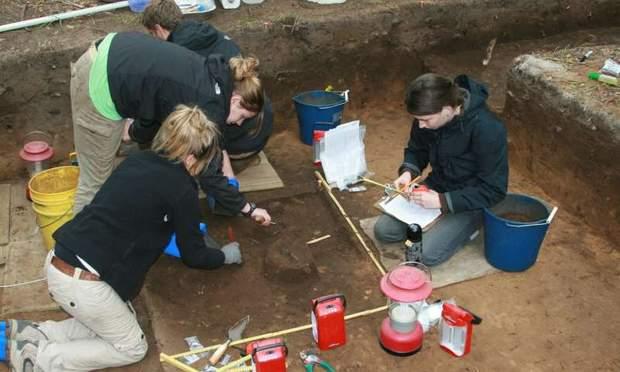 археологічні розкопки сша