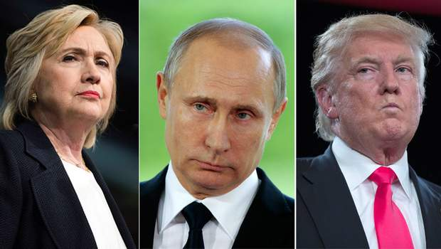 Трамп Клінтон Путін Манафорт