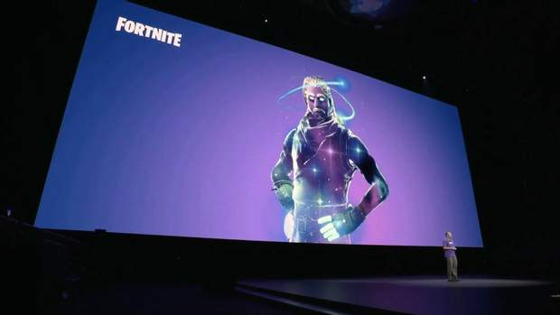 Fortnite на Samsung Galaxy Note 9