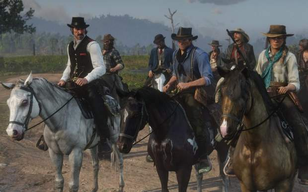 Скріншот з гри Red Dead Redemption 2
