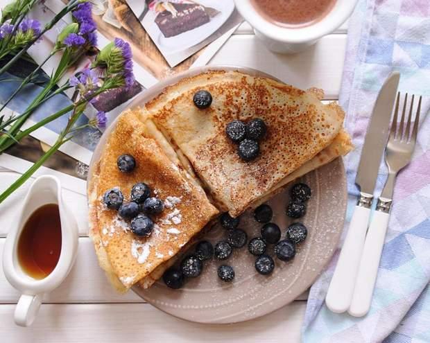Рецепт тонких млинців: рецепт приготування тонких млинців