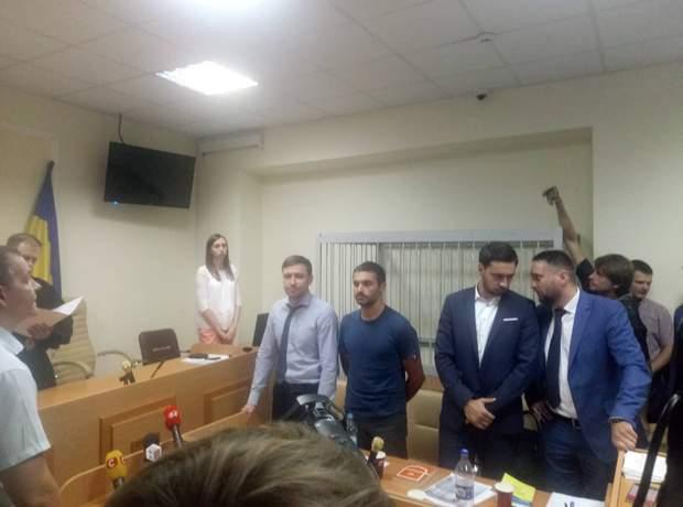 Фото Тамразова на сьогоднішньому засіданні суду