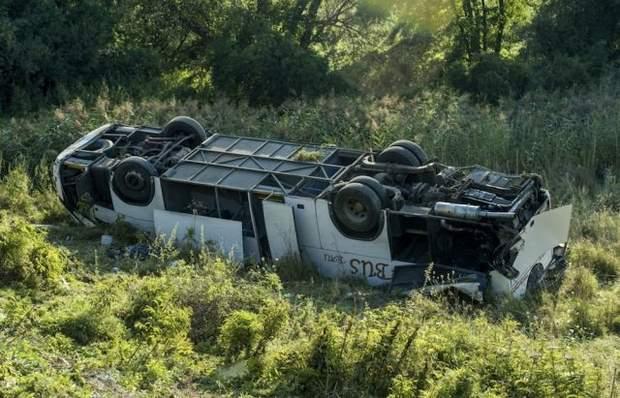 ДТП Угорщина аварія автобус українців